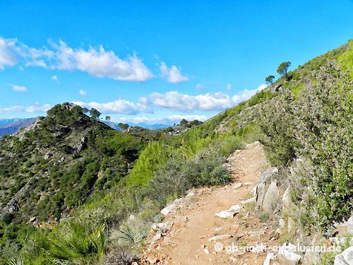 Wanderweg Valtocado