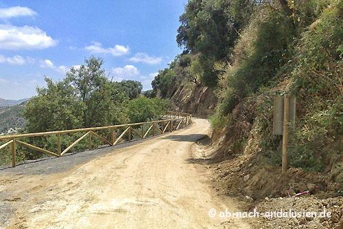 Via Verde bei Olvera