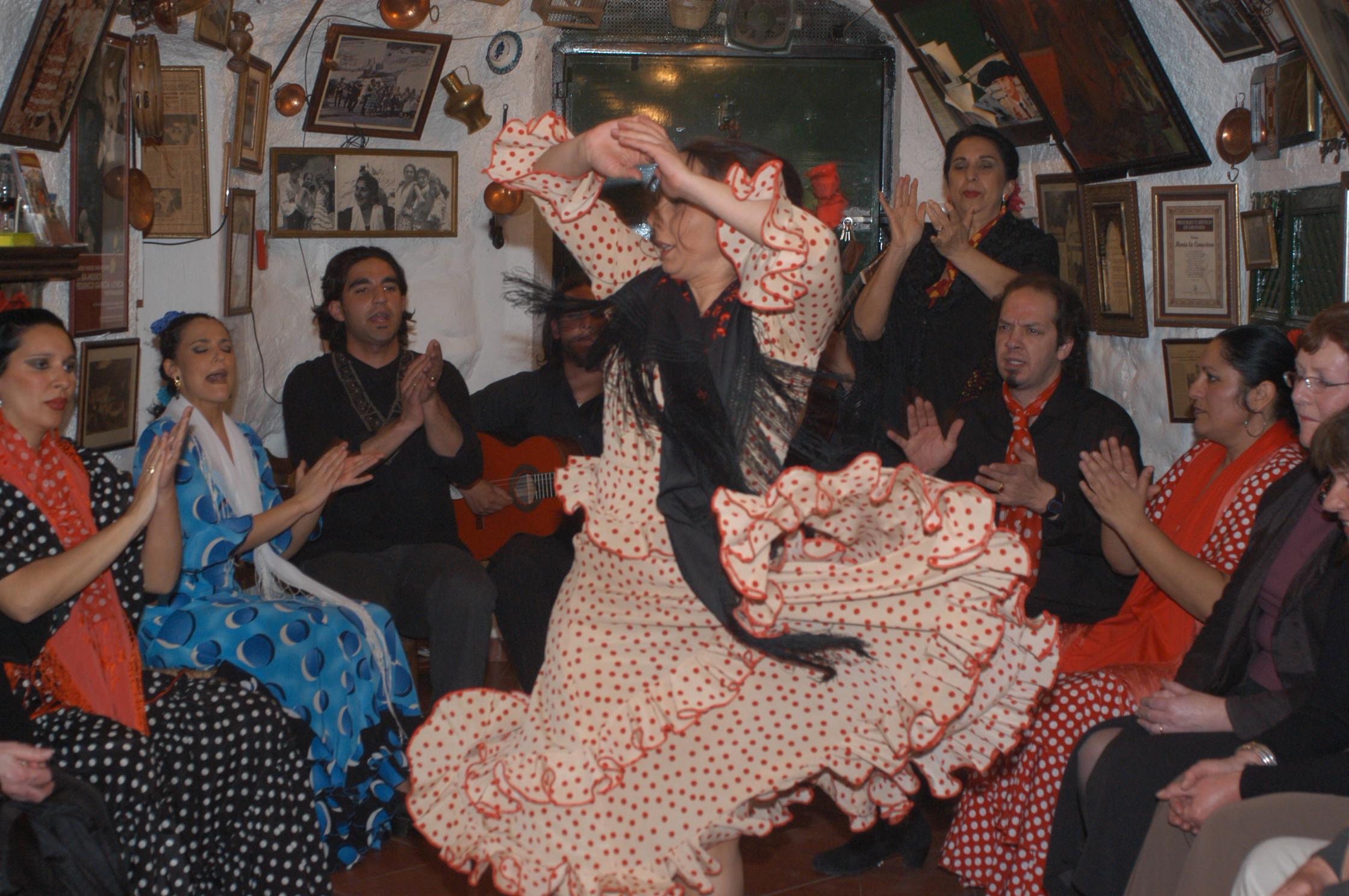 Yolanda, autentico baile gitano