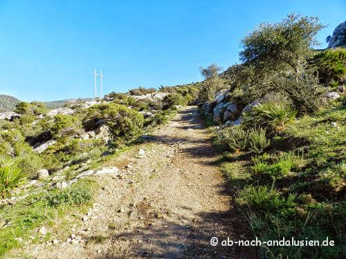 Weg zum Mirador de la Buitrera