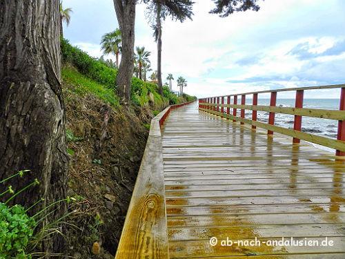 Küstenwanderung Nerja Manilva